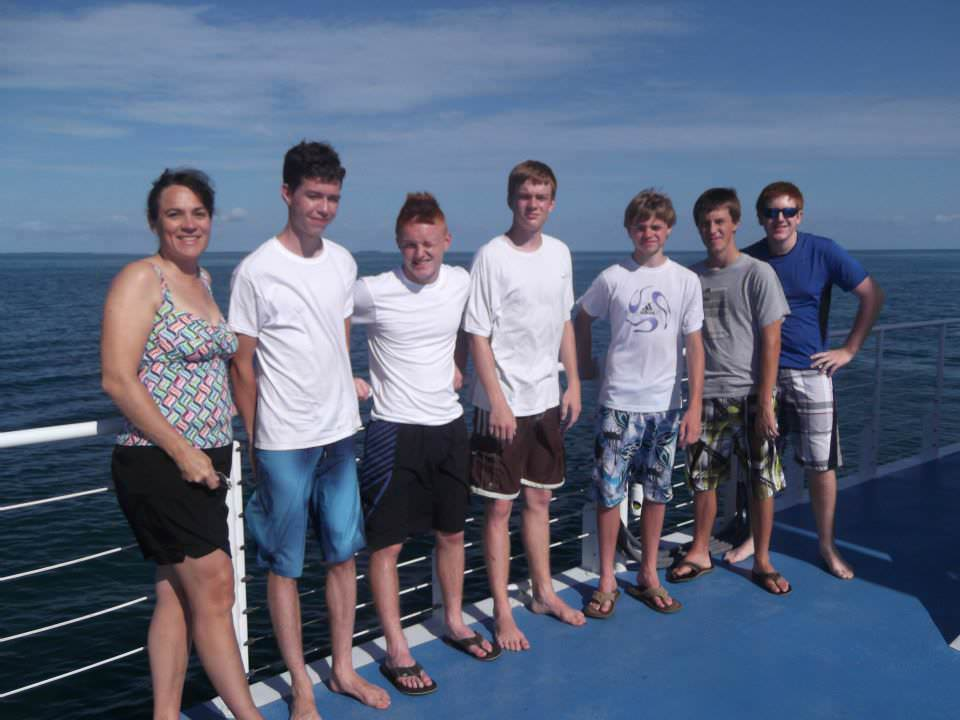 2 New Hope OPC team members in Key West July 2013