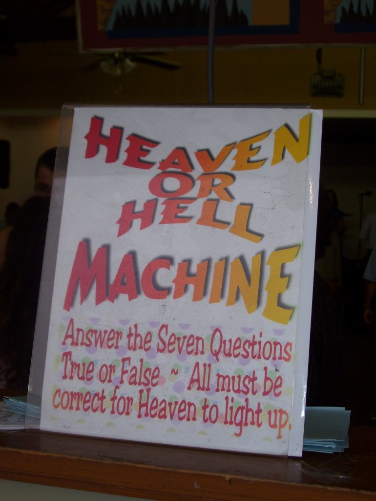 Boardwalk Chapel 2014 - Heaven or Hell Machine - photo by Janet