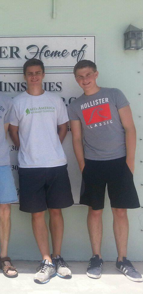 KEY WEST 2014-07 KEM Intern John Gildersleeve, and Joshua Gardner