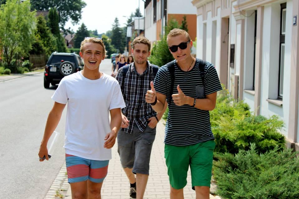 2014 Team Praha photo 23 from Ailalon Church - eli, honza, vladya- Mary copy