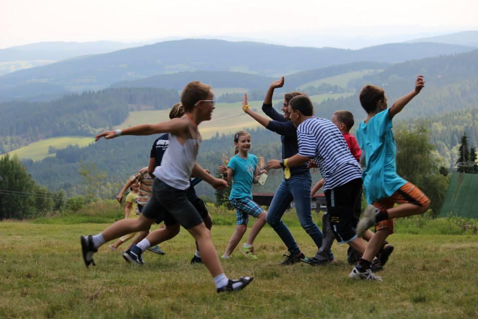 2014 Team Praha - playing - photo from Jana Crum