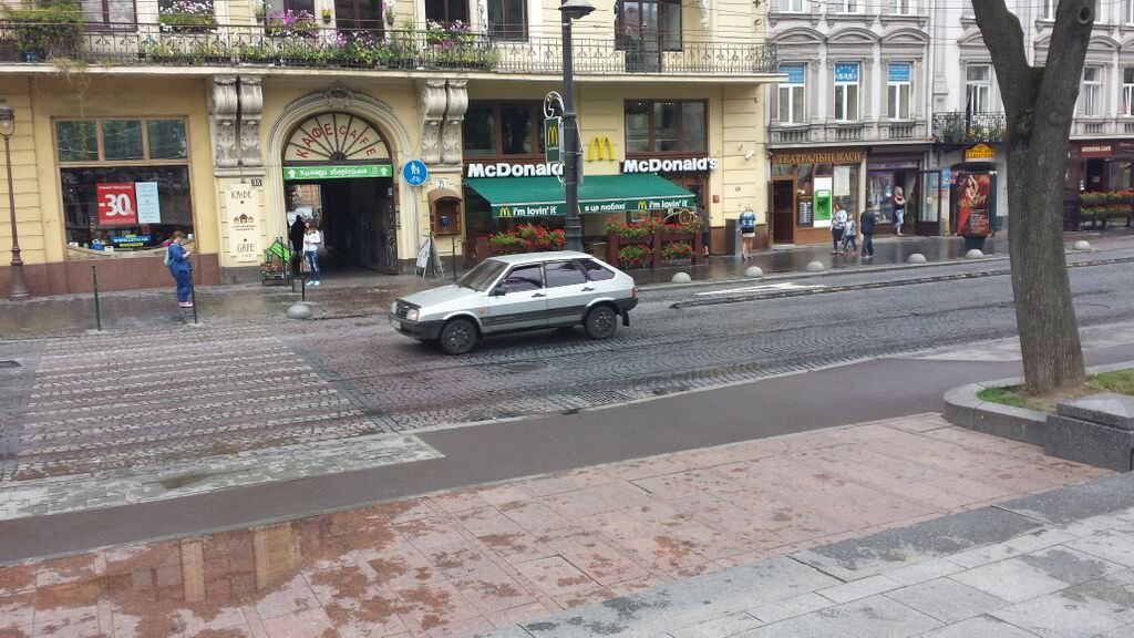 2015 Ukraine - McDonalds in L'viv