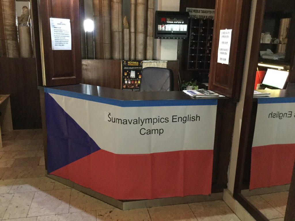 English camp sign3